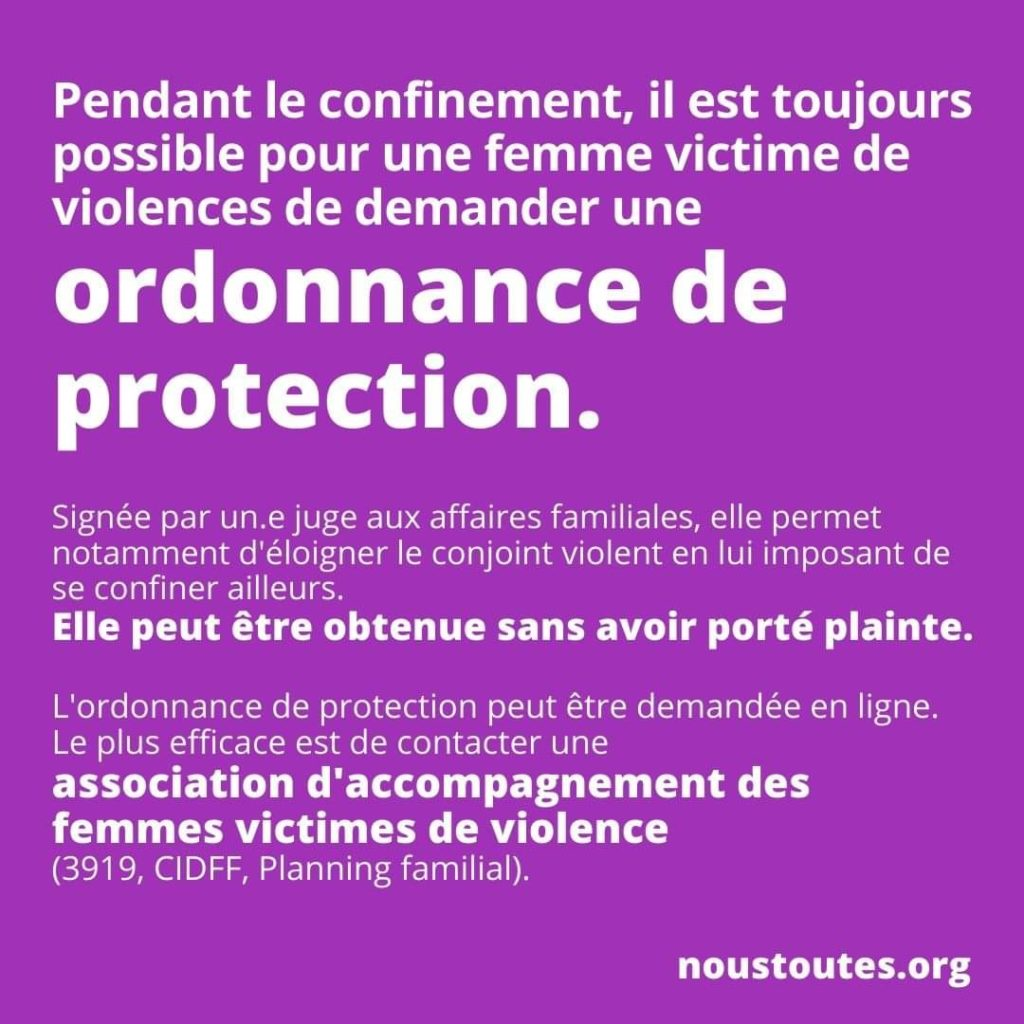 Victimes de violences conjugales ? Demandez votre ordonnance de protection