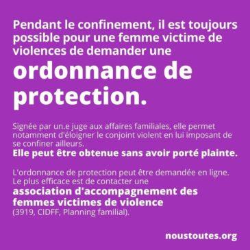Victime de violences conjugales ? Il existe des solutions même pendant le confinement !
