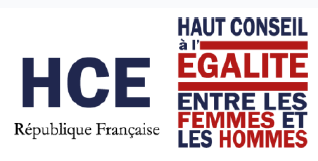 Logo Haut conseil à l'égalité entre les femmes et les hommes