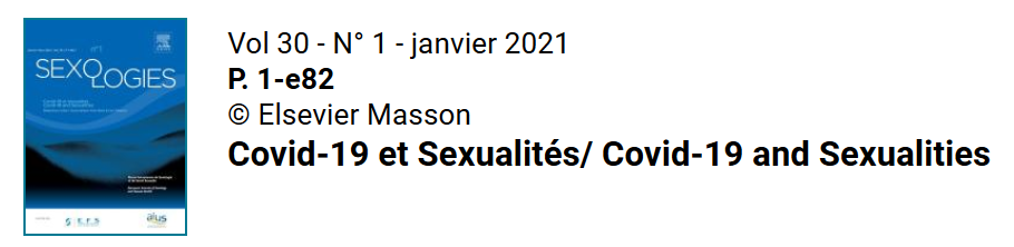 Le dossier «COVID-19 et sexualités» de la revue Sexualités est en libre accès !